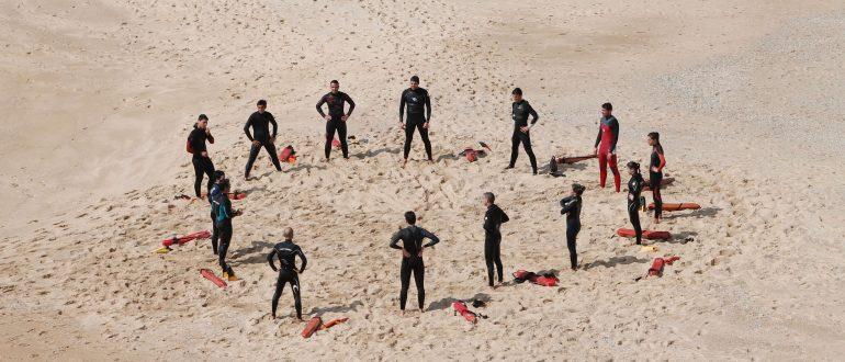 Méthode agile, team bulding, sauveteurs