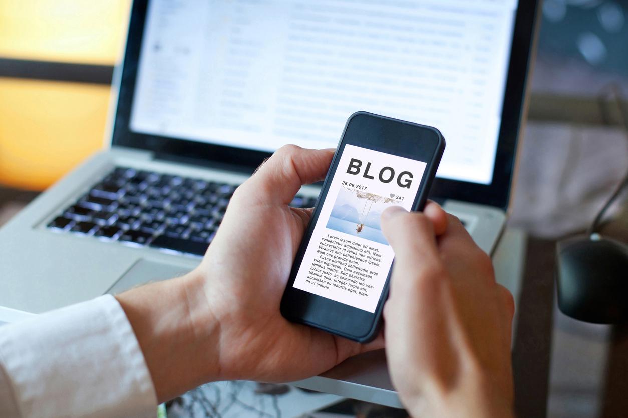 blog et btob